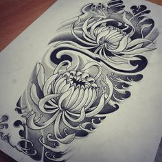 half sleeve tattoo designs and meanings Unique Half Sleeve Tattoos, Half Sleeve Tattoos Designs, Japanese Sleeve Tattoos, Large Tattoos, Tattoo Designs And Meanings, Japanese Flower Tattoo, Japanese Tattoo Designs, Japanese Flowers, Floral Tattoo Design
