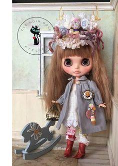 cle Noir Doll**カスタムブライス** my deer girl 難あり_画像1