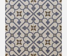 Brighton Blue Pattern Porcelain Floor Tile - Tiles from Tile Mountain