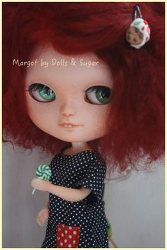 "OOAK Custom ICY doll *MARGOT* by Dolls & Sugar in my ETSY SHOP ""DollsandSugarSHOP"" AND EBAY! #icydoll #icydollcustom #customicydoll #customblythe #blythecustom #blythedoll #blythe #doll #customdoll #dollcustom"