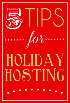 5 Tips for Holiday H