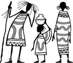 African patterns for clothes Arte Tribal, Tribal Art, Black Women Art, Black Art, African Art Projects, Afrique Art, African Art Paintings, African Theme, African Design