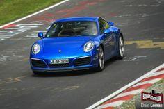 Автофория: Нескрываемым 2016 Porsche 911 facelift (991,2)