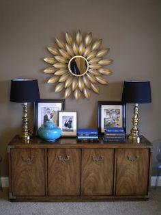 Sunshine on the Inside: Front Room: Sunburst Mirror