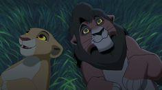 Kovu is the deuteragonist of The Lion King II: Simba's Pride. He is the chosen heir of Scar who. Simba Disney, Disney Pixar, Arte Disney, Disney Lion King, Disney Art, Lion King Kovu, Kiara Lion King, Kiara And Kovu, Lion King Series