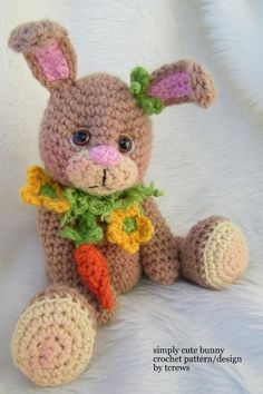 Bunny, Simply Cute Crochet Pattern
