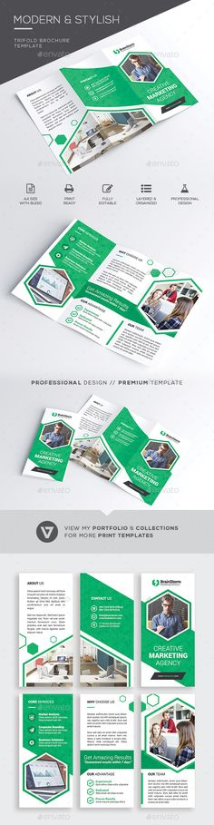 #Trifold #Brochure - #Corporate Brochures