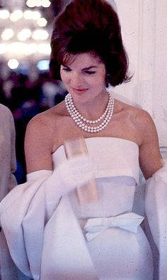 Jackie Kennedy; India in 1962