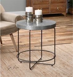 Uttermost Amiano Iron Accent Table (24455)