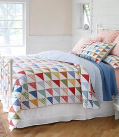 Flying Geese Quilt: Quilts | Free Shipping at L.L.Bean