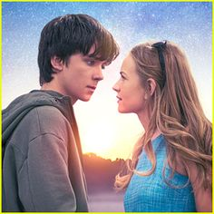 #Britt Robertson #Asa Butterfield #Space.Between.Us  No I refuse to believe it, he's not allowed to kiss her, I love him too much, please no