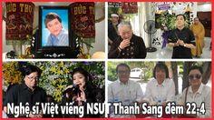 NSƯT Minh Vương cùng đông đảo nghệ sĩ nổi tiếng vi-ếng NSƯT Thanh Sang đ...