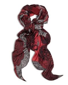 Classic paisley gets a sophisticated update in this beautifully bold scarf.  #chicosweeps