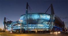 Philips Stadion uitgelicht tijdens GLOW 2008