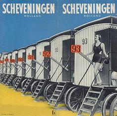 Scheveningen - badkoetsen - The Netherlands