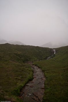 Mists in the Highlands of Scotland
