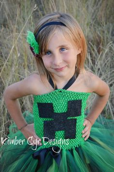 Girlish Creeper: This Minecraft dress ($40-$65) is great for your girlie gamer.