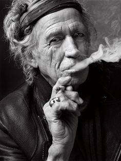 Keith Richards, Nueva York, 2011. | 14 retratos increíblemente hermosos de celebridades