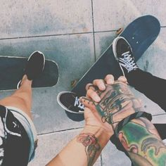 """"""" Vans, tattoos, your skateboard and that special someone... ✌Impericon, bring me the horizon, Hardcore youth✌"""""""