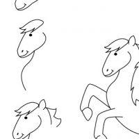 Drawing pony
