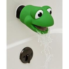 Mommy`s Helper Faucet Cover Froggie Collection, Green, 6-48 Months $9.73