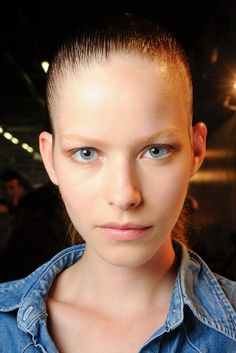 Alexander Wang Spring 2015 Ready-to-Wear - Beauty - Look 3 - Style.com