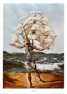 Dali ~ Another of my fav's ~ My son has this tattooed on his side for me!