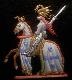 Portuguese Knight | International Flat Figure Society - British Flat Figure Society