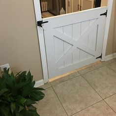 Rustic Dog or Baby Gate Barn Door Style image 1 Doors, Double Doors, Rustic Barn, Barn, Barn Door, Garage Doors, Garage Door Design, Baby Gates, Garage Door Types