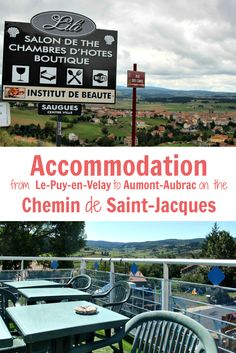 Where to stay between Le-Puy-en-Velay and Aumont-Aubrac long-distance walking in France along the Chemin de Saint-Jacques – and how to book it in French!