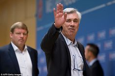 Carlo Ancelotti says he wouldn't rule out going back to Real Madrid for a second spell at the club despite being cruelly dumped after winning the club's 10th Champions League.