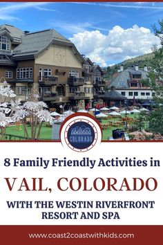 Vail may be best known for its skiing, but there are tons of family friendly activities, offered ALL year, that everyone will enjoy. Travel Deals, Us Travel, Family Travel, National Park Tours, National Parks, Family Adventure, Adventure Travel, Avon Colorado, Beaver Creek Mountain