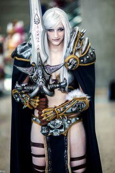 Rule 63 Arthas from World of Warcraft