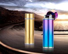 YOUNAN Gravity induction Cigarette Lighter Mirror Ice USB Windproof Electronic Shake Cigarette Lighter Men Smoke Gift-2207 #Affiliate