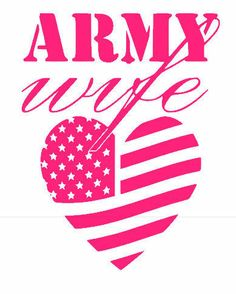 Army Wife Decal