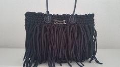 Tasche Bag Borso Borsa Bolsos Trapillo Uncinetto Designer 100% Handmade Neu von KSStil auf Etsy