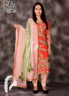 From the royalty of patiala we have this delicately done suit for you . The fine work done on the suit is done with the love and affection by our artisans only for you . The dupatta also stands unique with the colours sea green and baby pink. Embroidery Suits Punjabi, Embroidery Suits Design, Embroidery Stitches, Hand Embroidery, Designer Punjabi Suits, Indian Designer Wear, Indian Party Wear, Indian Wear, Pink Suits Women