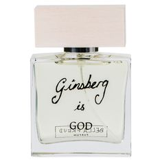 """Inspired by her signature sweaters and named after Allen Ginsberg, designer Bella Freud's unisex fragrance is inspired by """"the tousled headed poet surrounded by books and papers, the scent of green leaves and spring drifting in through the open windows."""""""