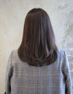 Haircuts Straight Hair, Haircuts For Medium Hair, Medium Hair Cuts, Long Hair Cuts, Hairstyles Haircuts, Medium Hair Styles, Long Hair Styles, Hair Style Korea, Asian Short Hair