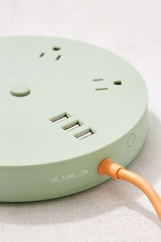 Shop UO_TUNE_IN Circular Power Strip at Urban Outfitters today. We carry all the latest styles, colors and brands for you to choose from right here. Design Reference, Power Strip, Industrial Design, Accent Decor, Cleaning Wipes, Design Inspiration, Pure Products, Detail, Objects