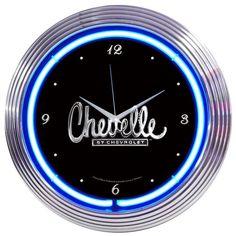 #Chevelle #Neon #Clock