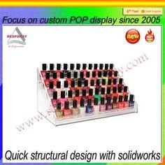 Nail polish display racks