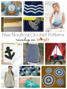 The nautical look is a perennial classic! Get this cool, breezy look with these 12 free #crochet patterns!