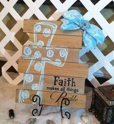 Christian Table Art - Christian Artwork - Religious Plaque - Inspirational Keepsake - Christian Gift - Scripture Art - Bible Verse Art -