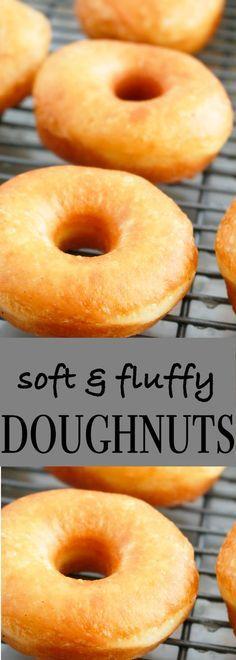 best soft doughnut recipe | fluffy doughnuts | fluffy soft doughnut |light and fluffy doughnuts |soft doughnuts | glazed doughnut recipe | best homemade doughnuts