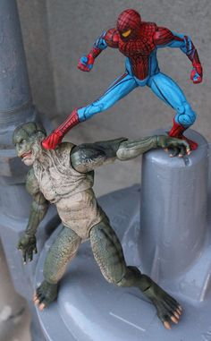 Marvel Select The Amazing Spider-Man Movie Spider-Man Vs The Lizard