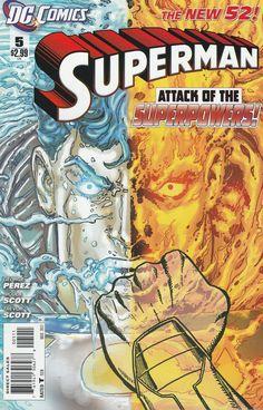 Superman # 5 DC Comics The New 52!