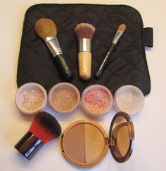 How to Apply Mineral Makeup: Intro and Gathering Your Materials