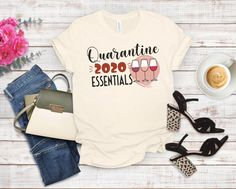 unny quarantine shirt, Social Distancing Wine Shirt - Ride out the quarantine in style with this funny 2020 quarantine wine shirt.
