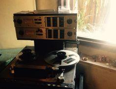 "Ampex 440c 2 track 1/4"" Analog Recorder"